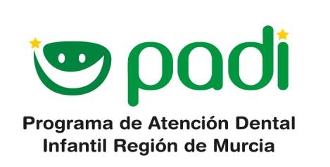 PADI. Programa de atención dental infantil Región de Murcia