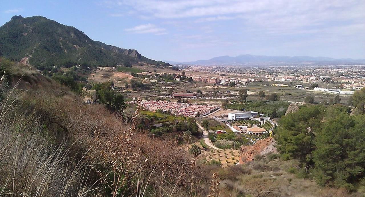 Vistas del pueblo de Beniaján